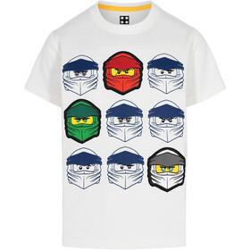 LEGO wear 12010022 T-Shirt SS Kids, wit